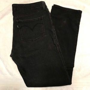 Levi's Mid Rise Slight Curve Jeans